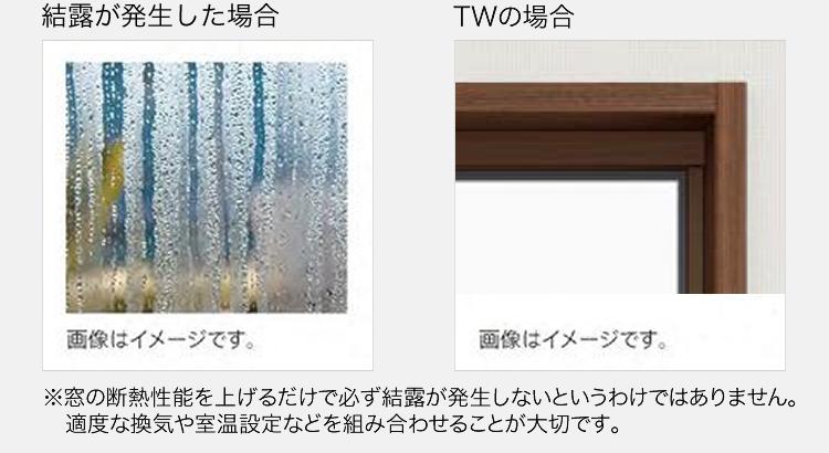 サーモスXは室内気温:20℃・湿度:50%・室外気温:0℃によるLIXILの社内試験で結露は見られませんでした。
